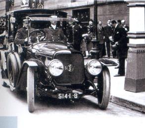 Panhard Levassor Type X21 coupé de ville 1914 Raymond Poincaré